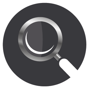 Silver magnifying glass with white handle, conveying transparent hourly boiler repair rates.