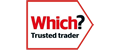 Small Which Trusted Traders logo (link) for local Gas Safe engineer London reviews.